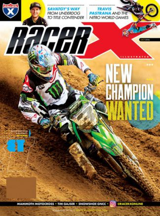Racer X Illustrated 8/2016
