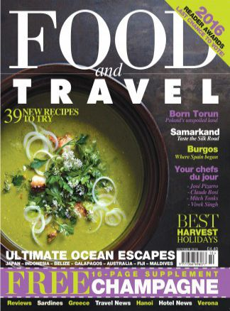 Food and Travel  4/2016