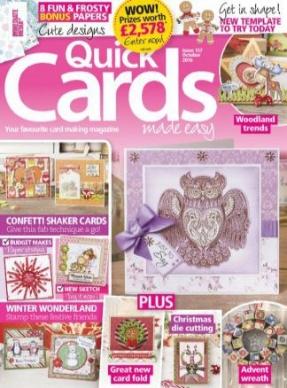 Quick Cards Made Easy 10/2016