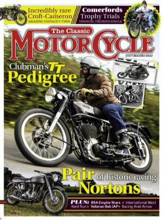 The Classic MotorCycle 9/2016