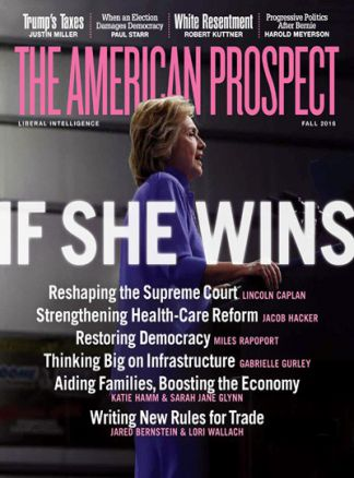 The American Prospect 2/2016