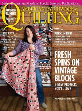 American Patchwork & Quilting 5/2016