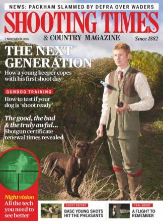 Shooting Times and Country Magazine 3/2016