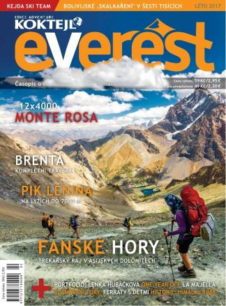 Everest léto 2017