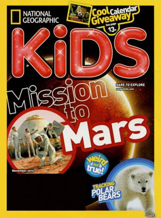 National Geographic Kids  6/2016
