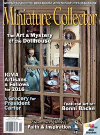 Miniature Collector Magazine  9/2016