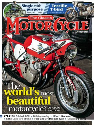 The Classic MotorCycle 11/2016
