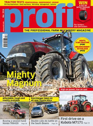 Profi Tractors and Farm Machinery 10/2016