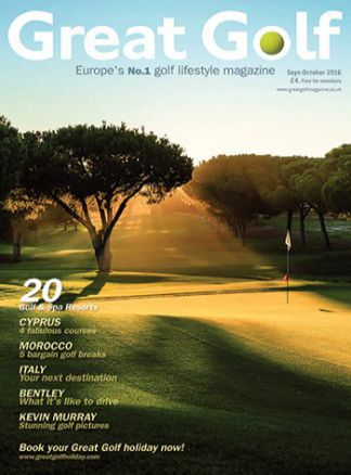 Great Golf Magazine 1/2016