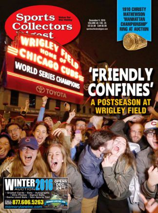 Sports Collectors Digest 4/2016