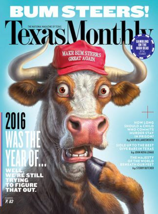 Texas Monthly 1/2017