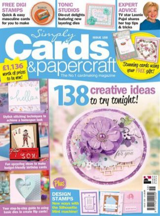 Simply Cards & Papercraft 1/2017