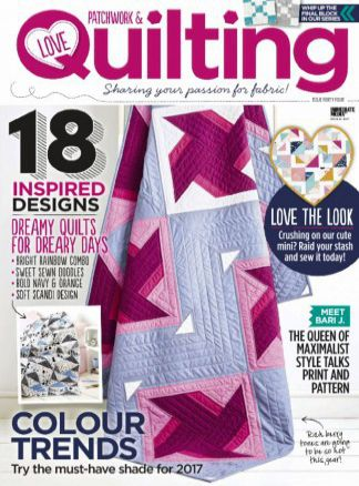 Love Patchwork & Quilting 2/2017
