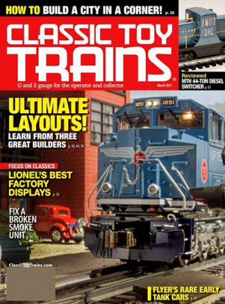 Classic Toy Trains 1/2017