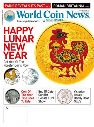 World Coin News 1/2017