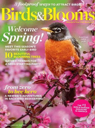 Birds and Blooms 1/2017