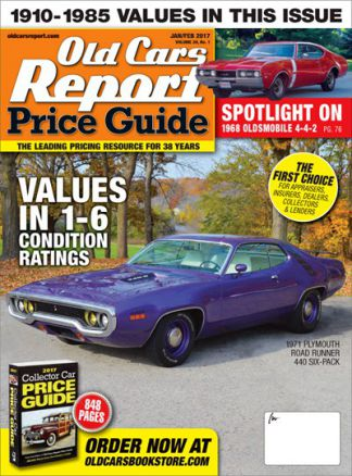 Old Cars Price Guide 1/2017