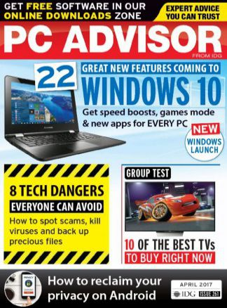 PC Advisor with DVD 3/2017