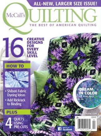 McCall's Quilting 1/2017