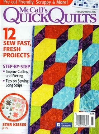 Quick Quilts 1/2017
