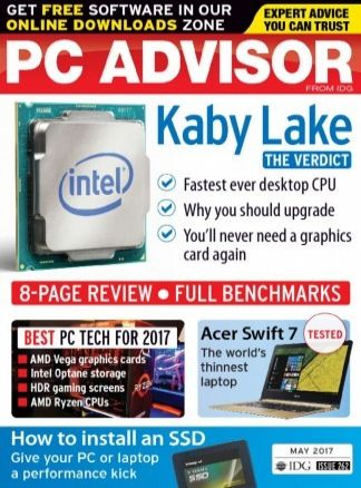 PC Advisor with DVD 4/2017