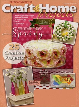 Craft & Home Projects/Dec Digest 1/2017