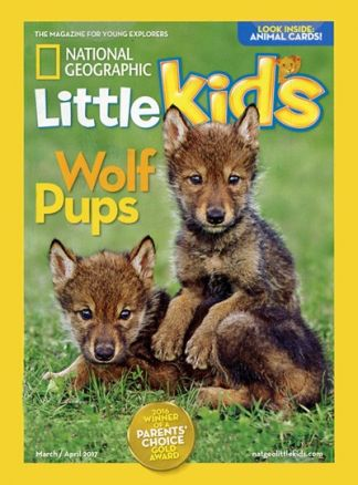 National Geographic Little Kids 3-6 2/2017