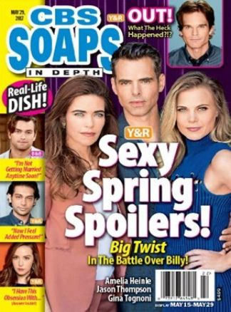 CBS Soaps In Depth 4/2017