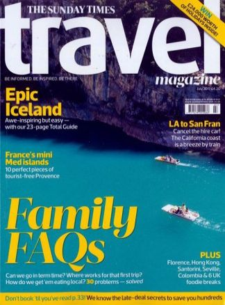Sunday Times Travel Magazine 5/2017