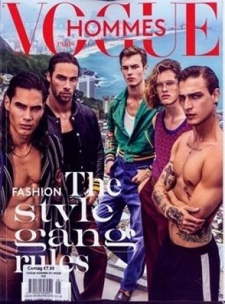 VOGUE HOMMES INTERNATIONAL MODE 1/2017