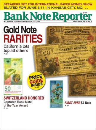 Bank Note Reporter 3/2017