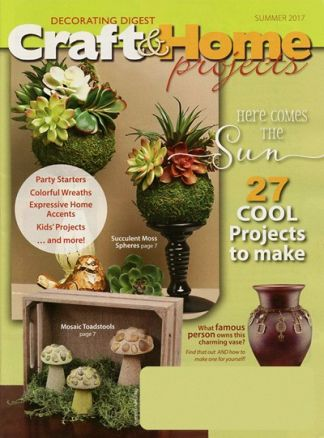 Craft & Home Projects/Dec Digest 2/2017