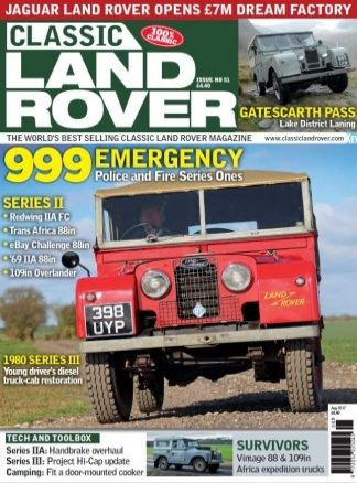 Classic Land Rover 7/2017