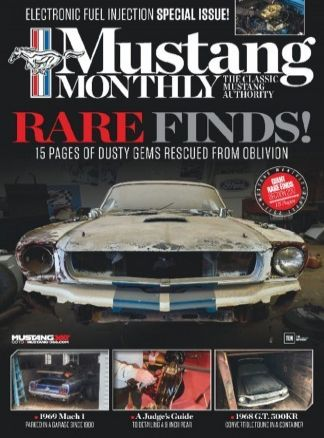 Mustang Monthly 7/2017