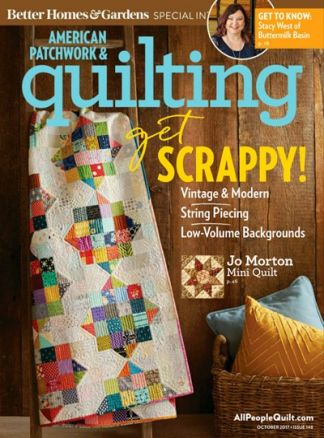 American Patchwork & Quilting 3/2017