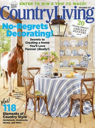 Country Living US 4/2017