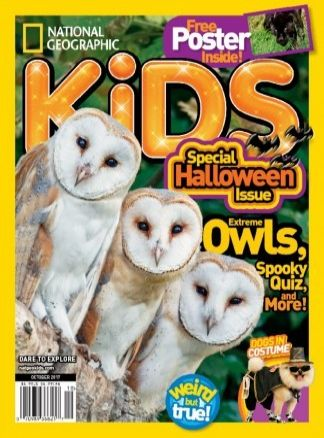 National Geographic Kids UK 8/2017
