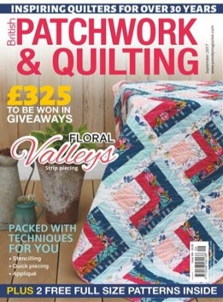 British Patchwork and Quilting 1/2017