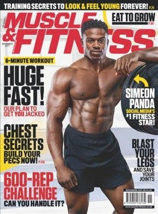 Muscle and Fitness UK 4/2017