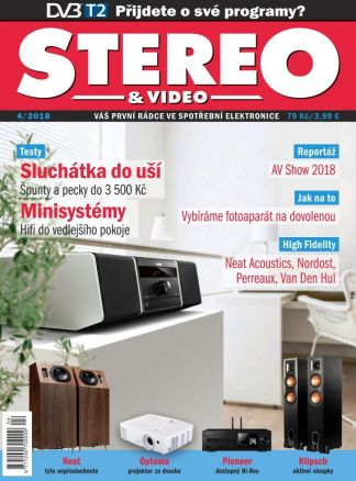 Stereo & Video  4/2018