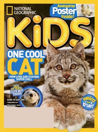 National Geographic Kids  5/2017