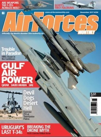 Airforces Monthly 8/2017