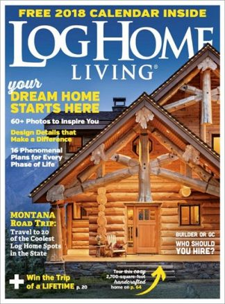 Log Home Living 3/2017