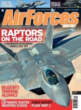 Airforces Monthly 9/2017