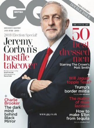 Gentlemen's Quarterly (GQ) UK 11/2017
