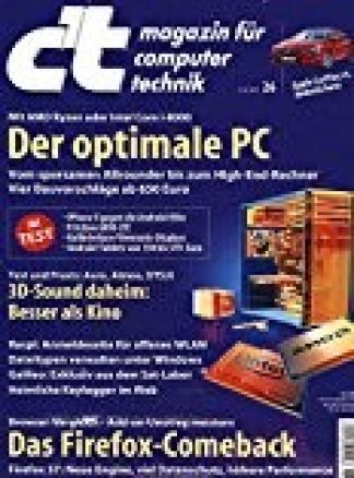 CT Magazin für Computertechnik  13/2017