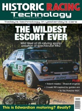 Historic Racing Technology 1/2018