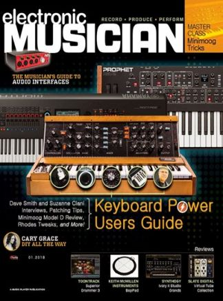 Electronic Musician 1/2018