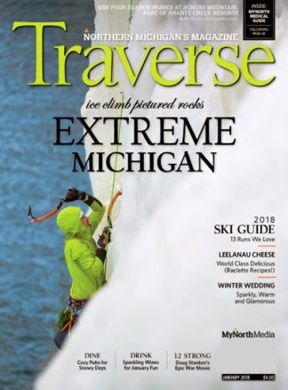 Traverse,Northern Michigan Magazine 1/2018