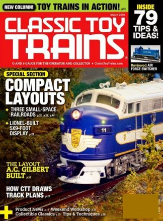 Classic Toy Trains 1/2018